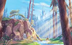 The Forest with the Beast's Castle