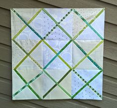 A Quilter's Table: Crosscut Repeat