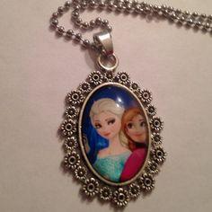 Frozen Necklace Brand new Frozen necklace!! Accessories Jewelry