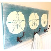 Handcrafted Wooden Wave Towel Rack