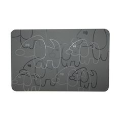 FouFou Dog Silicone Deterrent Placemat for Dogs, Black -- Check this awesome image  : Stuff for dog