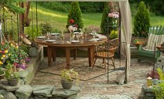 New England Joinery builds handmade, reclaimed wood farm tables,rustic dining tables, & trestle tables. Custom Dining Tables, Trestle Table, Outdoor Furniture Sets, Outdoor Decor, Handmade Furniture, Joinery, New England, Outdoor Living, Hardwood