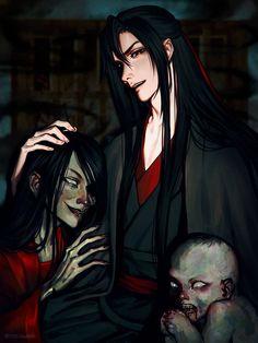 Dragon Rey, Chinese Cartoon, Audio Drama, Fanart, Great Love Stories, Romantic Moments, Creepy Art, Hot Anime Guys, The Grandmaster
