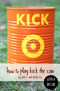 how to play kick the