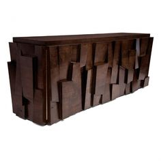 Hudson Furniture, Console_Tables, FACETED CONSOLE