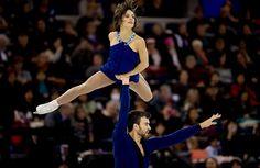 Meagan Duhamel & Eric Radford took gold at Skate Canada 2015