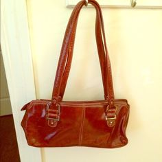 Purse Elegant red purse. Great for work or play.  Love with red heels and black outfit. Bags Shoulder Bags