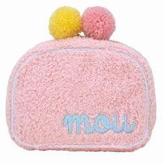 ROOTOTE Pompom Pouch [AVION DE PAPIER - Gloss-B] Pink – One Size 1022649717