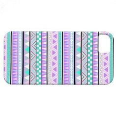 Bright aztec Andes Pattern iPhone 5 Case