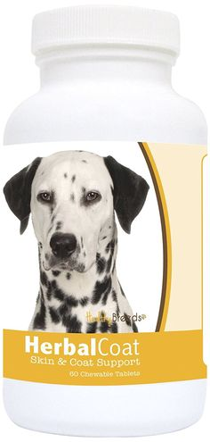 Healthy Breeds Dalmatian Natural Skin/Coat Support for Dogs 60Count ** You can find more details by visiting the image link. (This is an affiliate link and I receive a commission for the sales)