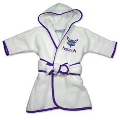 Pin by designs by chad and jake on charlotte hornets baby gifts officially licensed personalized cleveland cavaliers robe will keep your little nba fan snuggly warm and cozy personalized with babys name and the negle Gallery