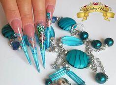 Summer nails❤❤❤ Summer Nails, Turquoise Bracelet, Bracelets, Jewelry, Summery Nails, Jewlery, Jewerly, Schmuck, Jewels