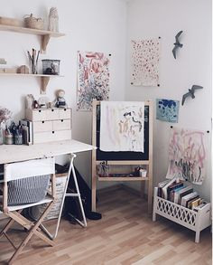 my scandinavian home: A Charming White and Natural Family Home In Normandy, France Kids Bedroom Dream, Tidy Books, Striped Cushions, Half Walls, School Furniture, White Backdrop, Scandinavian Home, Nursery Neutral, Inspired Homes