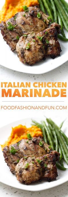 Get your summer grilling started with this 5 Minute Italian Chicken Marinade recipe. It's only 5 ingredients and they're all sitting in your pantry right now. This recipe is allergy friendly (gluten, dairy, nut, egg, soy and shellfish free) and suits the autoimmune protocol (AIP) and paleo diets.
