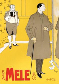 E. & A. Mele (from Ricordi portfolio) by Laskoff, Franz | Shop original vintage #posters online: www.internationalposter.com