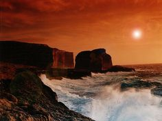 The magnificent coast of Gozo at Dwejra Malta Italy, Country Walk, Amazing Sunsets, Archipelago, Beautiful Islands, Vacation Spots, Monument Valley, Saints, Places To Visit