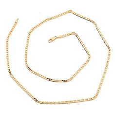 Orangelove Unisex 18K Gold Plated Necklace Chain Fashion Jewelry. Material:18K gold plated. Length:450mm/17.7in,width:2mm/0.08in. weight:3.8g. Shipping: Fulfilled by Amazon. We have jewelry box/bag,makes gift giving more easily and help you store the jewelry better.