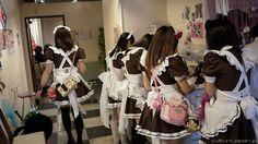 back of maid dress