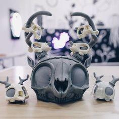 RxSevens Skull-headed Custom Dunnys for ATAMA!
