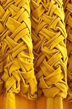 Braided Velvet Curtain