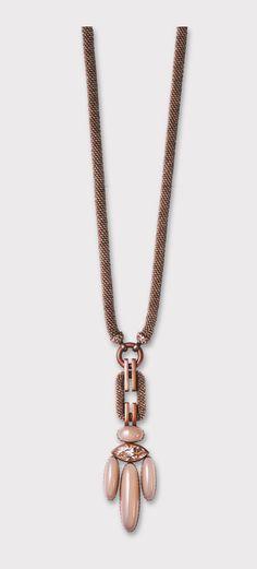 hemmerle necklace//diamonds - white gold - copper 2008