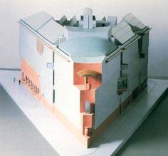 Hans Hollein, Frankfurt Museum of Art, Frankfurt, Germany, 1983