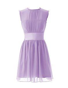 Dressystar short chiffon Bridesmaid dresses
