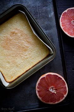 These grapefruit bars are similar to lemon bars but made with fresh squeezed grapefruit juice instead. Your friends and family will love them!