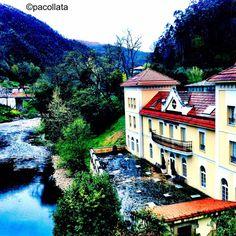 Hotel Balneario de Puente Viesgo. Cantabria, Spain. Take me?