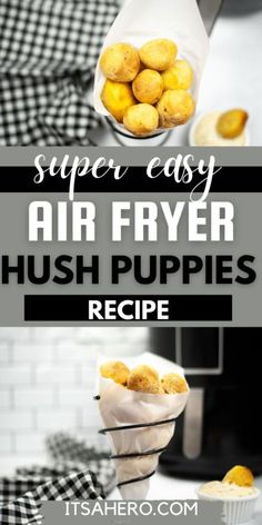 Fried Fish, Fish Fry, Delicious Desserts, Dessert Recipes, Dinner Recipes, Hush Puppies Recipe, Air Frier Recipes, Good Food, Yummy Food