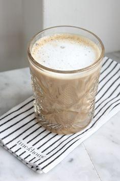 homevialaura | Crystal glass | Tine K napkin | coffee | marble