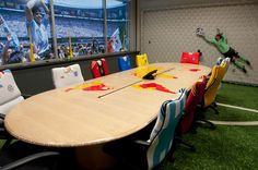ESPN Conference Room -- love the custom chairs!