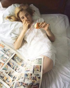 "CINESPIA (@cinespia) on Instagram: ""Sundays in bed - Sue Lyon on the set of Lolita by Bert Stern, 1961"""