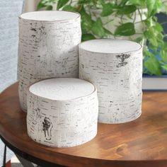 "Ophelia & Co. 6 Piece 5.5"" Glass Tabletop Lantern & Reviews   Wayfair Decorative Objects, Decorative Pillows, Decor Pillows, Lantern Set, Vase Fillers, Rustic Walls, Rustic Decor, Wood Sculpture, Tea Light Holder"