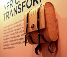 Inga Gubeka, jeune designer créateur basé du côté de Cape Town en Afrique du Sud nous présente sa collection de sac à dos en bois baptisée Indalo