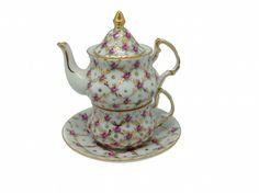 Delft Blue Porcelain Mini Tea For One