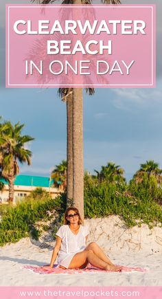 Things to do in Clearwater Beach, Florida USA in one day - gorgeous sunsets, great shopping, Winter the dolphin!