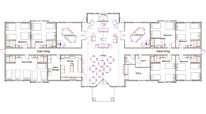 Hunting Lodge Floor Plans Plan Hunting Lodge Designs Floor Plans By Johnnie Taylor The Plan, How To Plan, Hotel Floor Plan, House Floor Plans, Coteaux Du Layon, Simple House Plans, Floor Plan Layout, Hunting Cabin, Plan Design