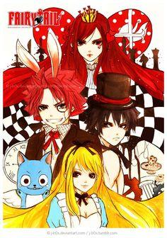 Alice In Wonderland Fairy Tail Version