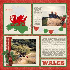 wales - love these new tempaltes by Michelle Batton @thedigichick.com