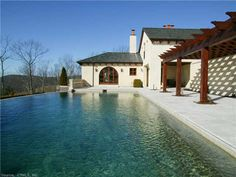 00 CARTER RD (Kent, CT 06757) - $8,900,000: Sited on 121 acres in the sweet spot where the earth meets the sky. private. serene. forever views. inspired by tuscan architecture with a modern use of space. 1900 sf gsthse, 620 sf gatehse, infinity pool. highest quality construction. easy to town & nyc - Litchfield Hills Sotheby's International Realty