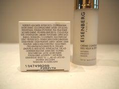 Eisenberg Paris skincare, Eye and lip contour / Creme contour des yeux & levres Ingredients