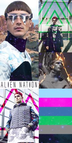 Alien Nation: dominant futuristic fashion theme forecast and influence 2015 - 2016 Trend Council