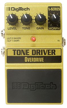 Why settle for one overdrive sound when you can have three overdrive pedals built into one stomp ...