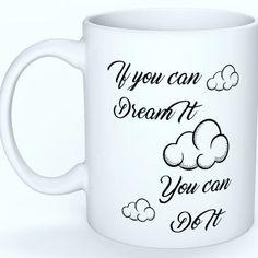 Aujourd'hui j'ai bien besoin de ce mug pour me motiver et me donner confiance en moi.  Un gros rendez vous en perspective.  Allez on est une winner donc ça va aller   #mugcitation #mugbylesperlesdeshiva #mugpersonbalise #onycroit #motivé #motivation #mugmotivation #citation #dream #yesyoucan #riennestimpossible