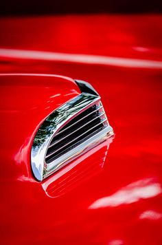 1956 Ford Thunderbird Hood Scoop - Car photographs  by Jill Reger