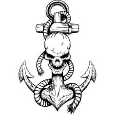 This article is not available - Anchor logo 7 skull rope ship boat nautical navy - Clipart, Anker Tattoo Design, Nautical Marine, Anchor Logo, Anchor Tattoos, Oldschool, Sea And Ocean, Skull Tattoos, Skull Art