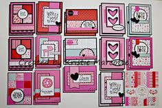 My Video 6x6 Paper Pad Tutorial--27 cards made with 1 6x6 pad! Great idea! 30 minute video.