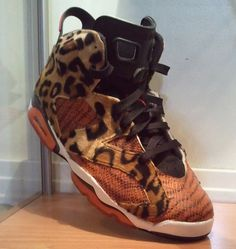"Air Jordan VI ""Jungle Fever"" Customs by Peculiar Kinetics"
