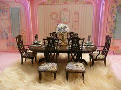 fancy dining barbie